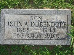 John Arthur Dubendorf
