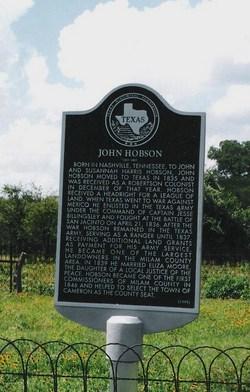 John Jack Hobson
