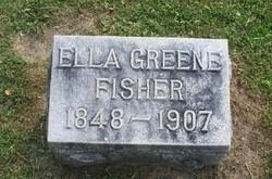 Martha Ellen Ella <i>Coddington</i> Fisher