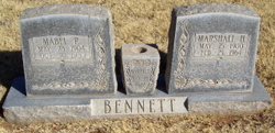 Marshall Hillard Sunk Bennett