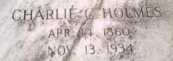 Charlie C Holmes