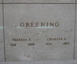 Theresa Elizabeth <i>Zelei</i> Greening