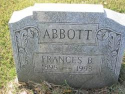 Frances B Abbott