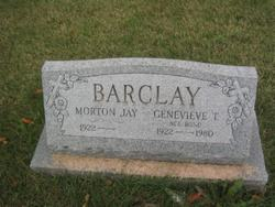 Genevieve T <i>Bond</i> Barclay