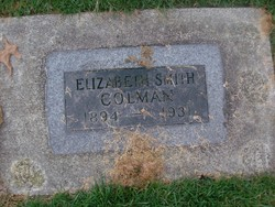 Elizabeth <i>Smith</i> Colman