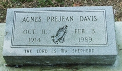 Agnes <i>Prejean</i> Davis