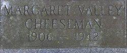 Margaret <i>Valley</i> Cheeseman