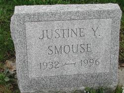 Justine Y <i>Bressler</i> Smouse