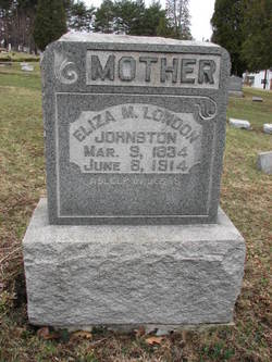 Eliza M. <i>London</i> Johnston