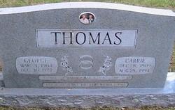 Carrie <i>Taylor</i> Thomas