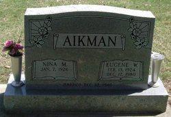 Eugene W Aikman