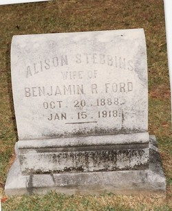 Alison Eccles Lefferts <i>Stebbins</i> Ford