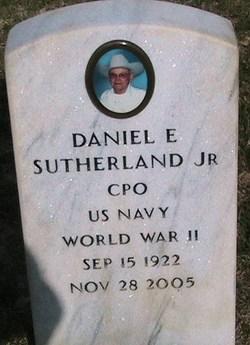 CPO Daniel E. Sutherland, Jr