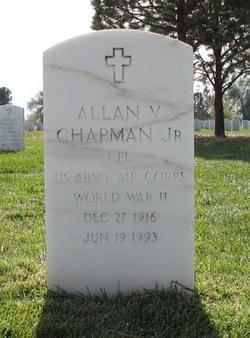 Allan V Chapman, Jr