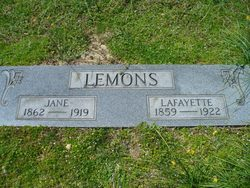 James Lafayette Lemons