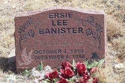 Ersie Lee Banister