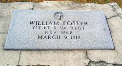 William Major Billy Foster