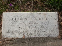 Pvt Clarence L. Byrd