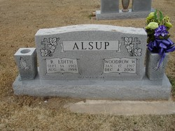 Woodrow Wilson Alsup