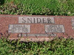 Emma L. <i>Clifft</i> Snider