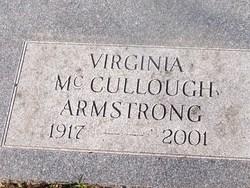 Virginia <i>McCullough</i> Armstrong