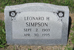 Leonard H Simpson