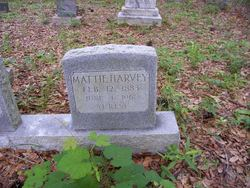 Mattie Martha <i>Hogans</i> Harvey