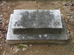 Mary Adeline <i>Bath</i> Clarke - Query