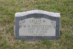 Lillie M. Singleton