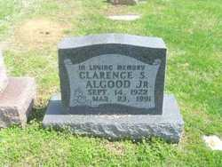 Clarence S Algood, Jr