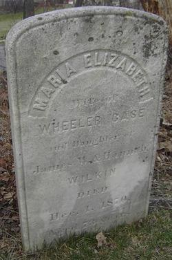 Maria Elizabeth <i>Wilkin</i> Case