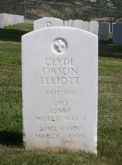 Clyde Orson Elliott