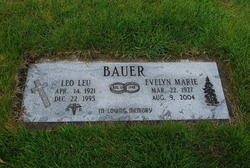 Evelyn Marie <i>Fordyce</i> Bauer