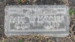 Paul W. Haynes