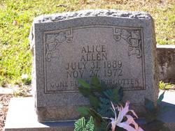 Alice <i>Harris</i> Allen