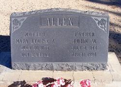 Mary Louise Alder Allen