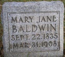 Mary Jane Baldwin