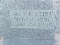 Alice <i>Fort</i> Bennett