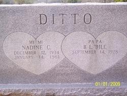 Clora Nadine <i>Manning</i> Ditto
