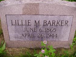 Lillie M Barker