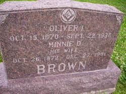 Oliver I Brown