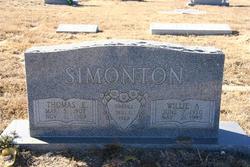 Willie Anna <i>Love</i> Simonton