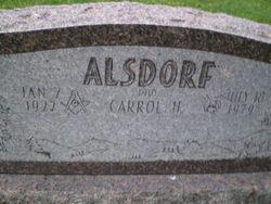 Carrol H Alsdorf