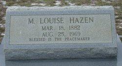 Marie Louise Hazen