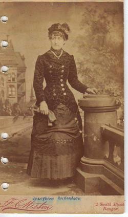 Josephine M. Gargie <i>Richardson</i> Gilbert