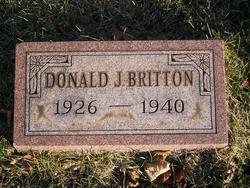Donald J Britton