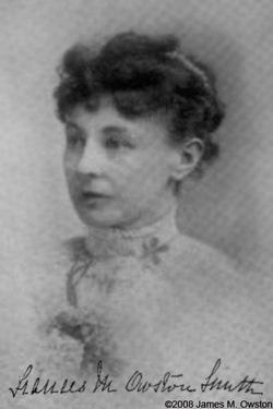 Frances Euphemia M. Owston <i>Smith</i> Hodges