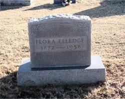 Florence J Flora <i>Butterfield</i> Elledge