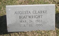 Augusta <i>Clarke</i> Boatwright