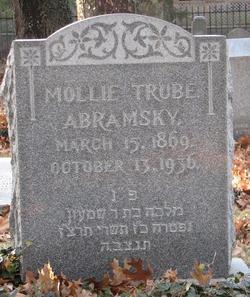 Mollie Trube <i>Weissman</i> Abramsky